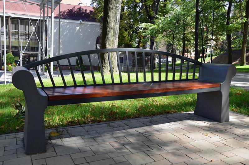 Bielsko Biała ławka kolekcji Savona odKomserwis